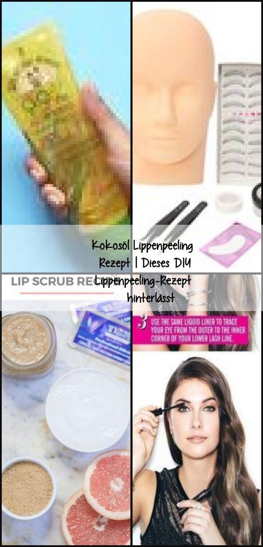 Coconut oil lip peeling recipe this diy lip scrub recipe