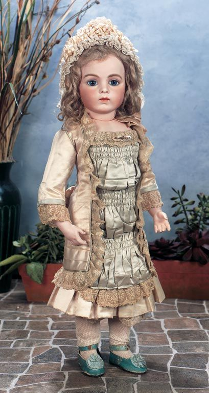 #7 A Bru Jne.  For most the classic of French bebes.  Perhaps the most sought after and dreamed of doll in the world. Thirty essential antique dolls every collector should own.  http://www.theriaults.com/