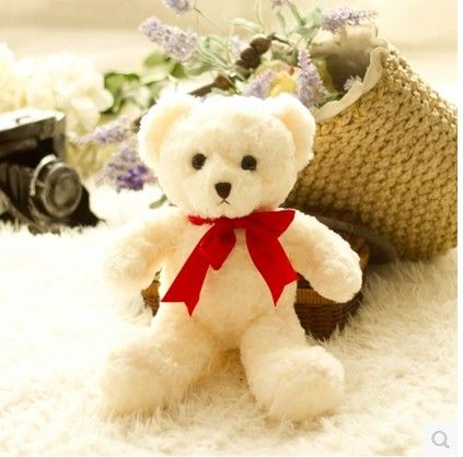 Free shipping one peice 3 colors 35CM teddy bear plush stuffed toy animal doll best birthday and christmas gift //Price: $US $10.99 & FREE Shipping //     #toyz24