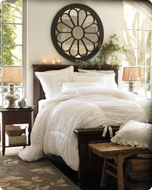 Lovely site packed with DIY knock-offs of high-end stores like Restoration Hardware.Decor, Potterybarn, Ideas, Mirrors, Duvet Covers, White Beds, Master Bedrooms, White Bedding, Pottery Barns