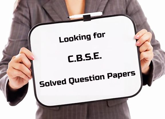 Get CBSE solved question papers for class 10 maths. Unfoldu provide ...