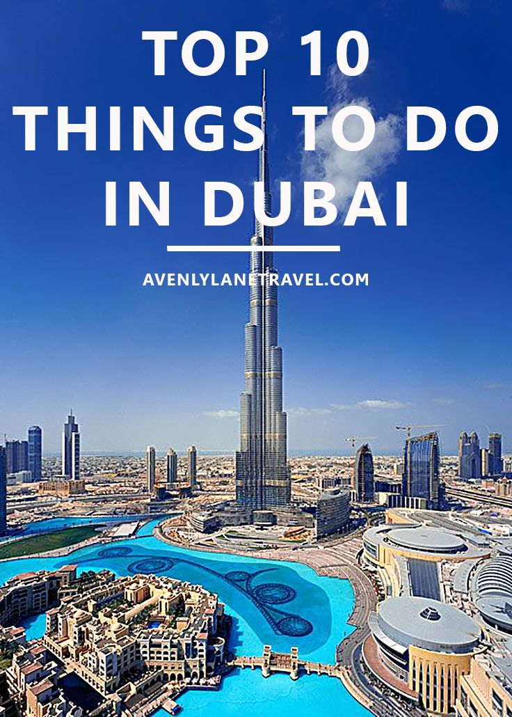 Top 10 Things To Do In Dubai! Dubai unabashedly aims to be the biggest, best…