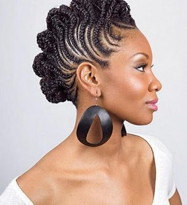 My Hair is My Fashion Accessory: Gorgeous Natural Hairstyles - Braided Mohawk styles we are loving