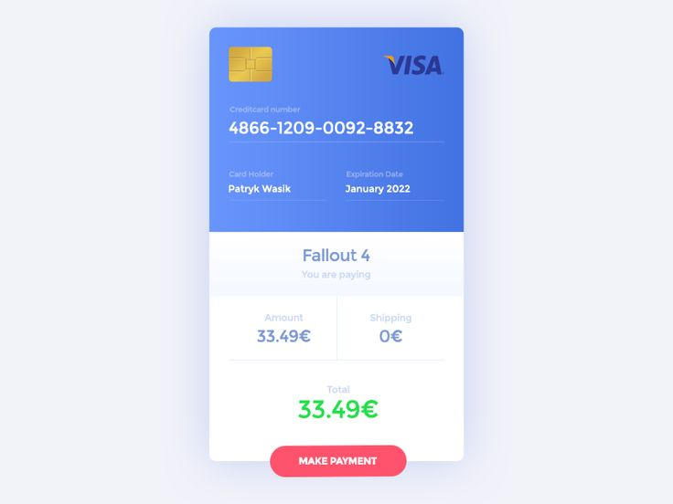 Hello Dribblers.  Daily UI #22 - Payment  Symu.co team accepts Daily UI Challenge. After 30 days we will make pack with all UI elements and send it to each user.  Stay tuned.  Check also our sites:...