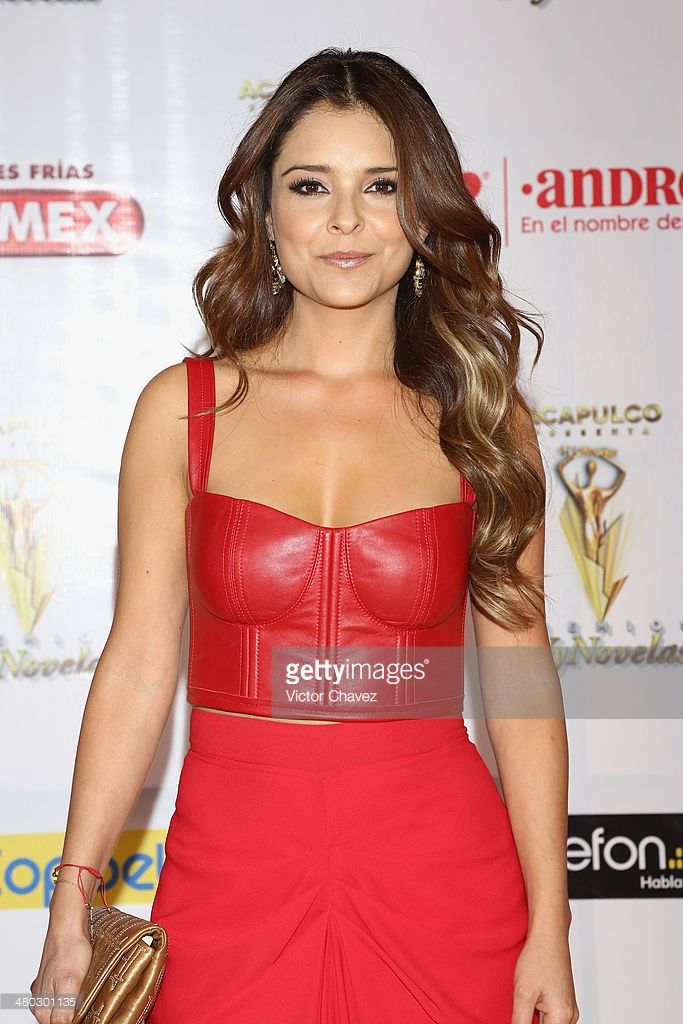 Grettell Valdez attends the Premios Tv y Novelas 2014 at Televisa Santa Fe on March 23, 2014 in Mexico City, Mexico.