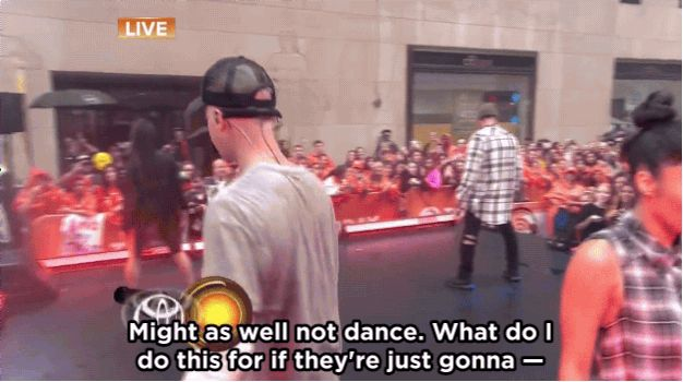 """Pin for Later: Why the Internet Is Totally Overreacting About Justin Bieber's Today Show """"Fit"""""""