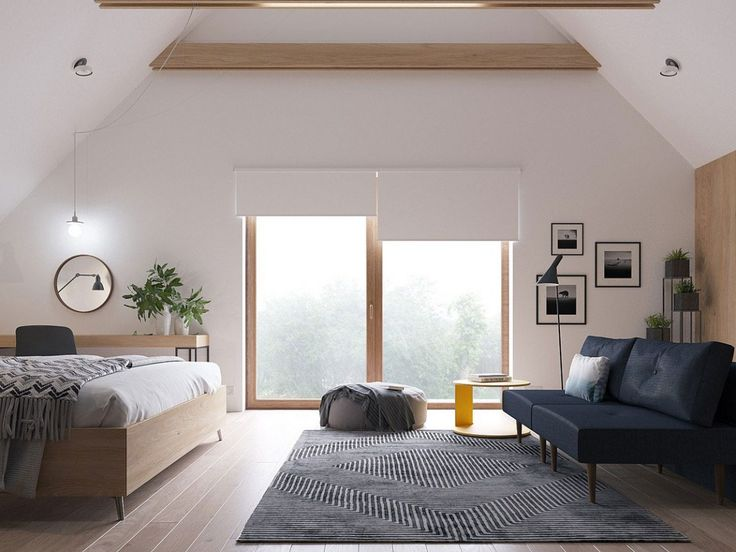 ZROBYM Architects Draw From Scandinavian Inspiration to Design This Two-Story Residence