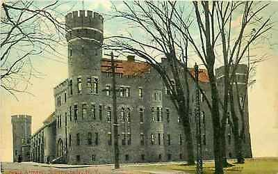 Schenectady New York NY 1908 State Armory Collectible Antique Vintage Postcard