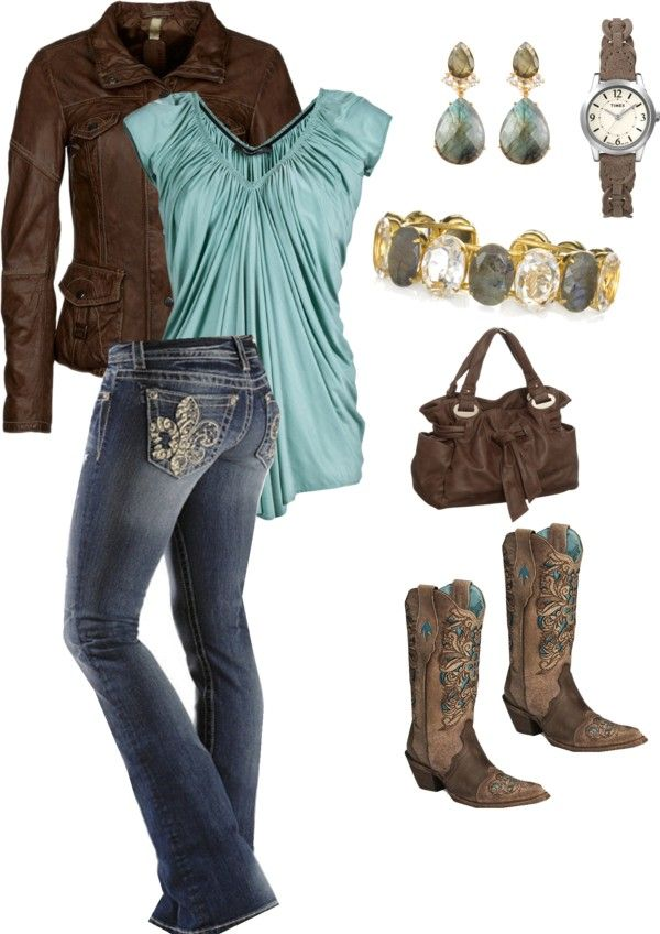 """Country Girls Night Out"" by melissa-terry on Polyvore"