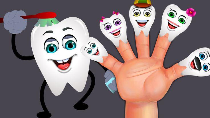 Teeth Finger Family Song - Nursery Rhymes For Children - Jam Jammies Kid...