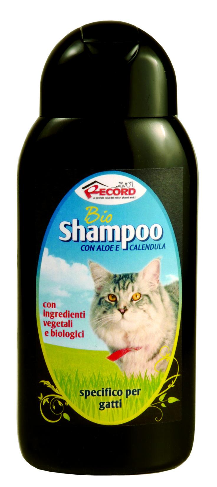 #Bio #shampoo specifico per #gatti, by Record. www.recordit.com