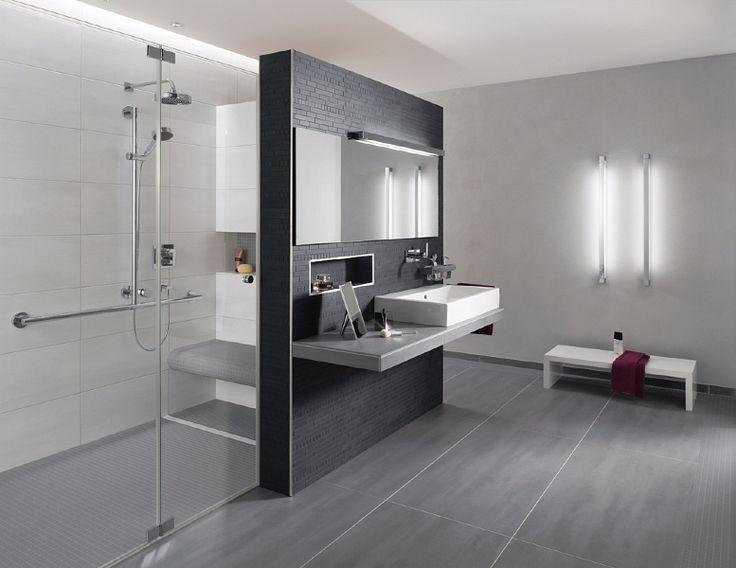Badezimmer Anthrazit Wei Liebenswert Design Badezimmer Fliesen Wei