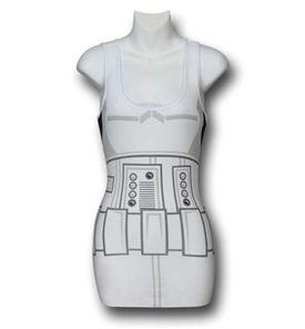 Star Wars Juniors Stormtrooper Costume Tank Top