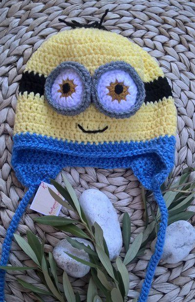 Minion cappello uncinetto