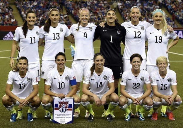 Nobody can deny the U.S. Women's National Team looks good on the field, they just took home a World Cup victory after all. | The U.S. Women's National Team Slayed With Their Looks At The ESPYS