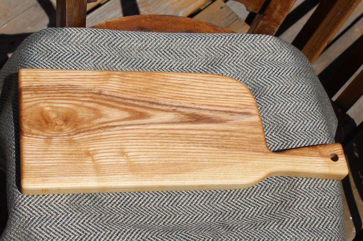 Handcrafted Wood Bread Board/Cheese Board or Charcuterie Board by HappyKnotsDesigns on Etsy https://www.etsy.com/ca/listing/469177641/handcrafted-wood-bread-boardcheese-board