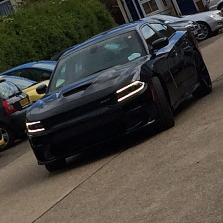 dodge charger black. dodge charger hellcat in black the uk h