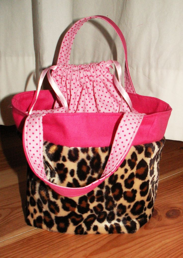 Howling at the moon: Lunch Bag made of Soft Jaguar Pluche