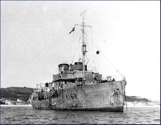 HMCS Pas, Canadian Navy Flower Class