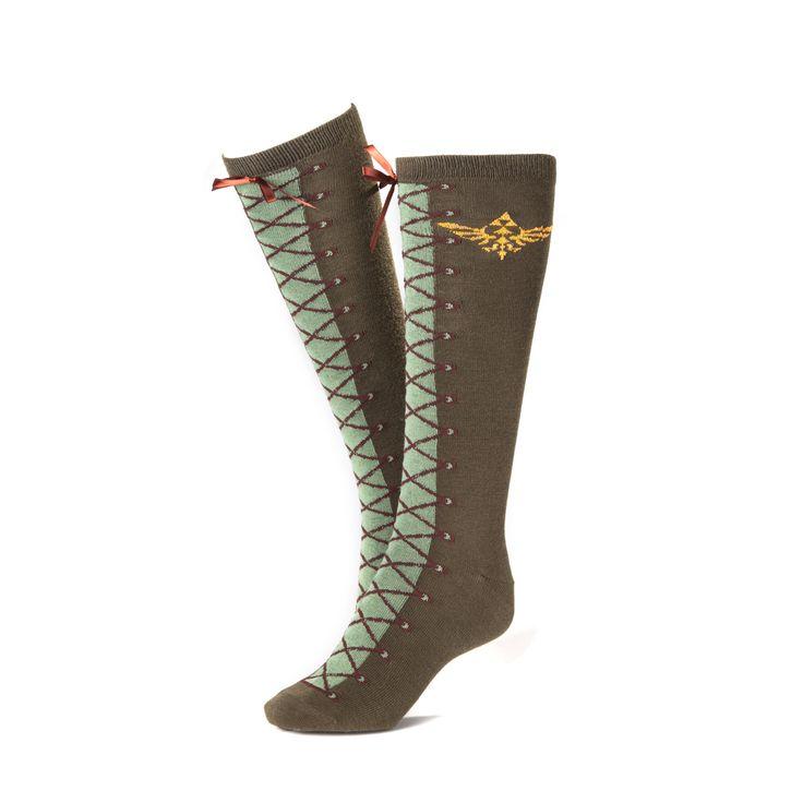 Gamer heaven - The Legend of Zelda Knee High Socks, $12.03 (http://www.gamer-heaven.net/the-legend-of-zelda-knee-high-socks/)