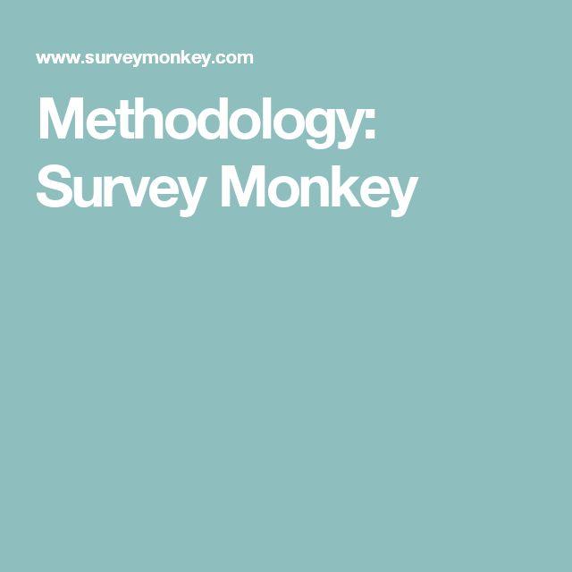 Methodology: Survey Monkey