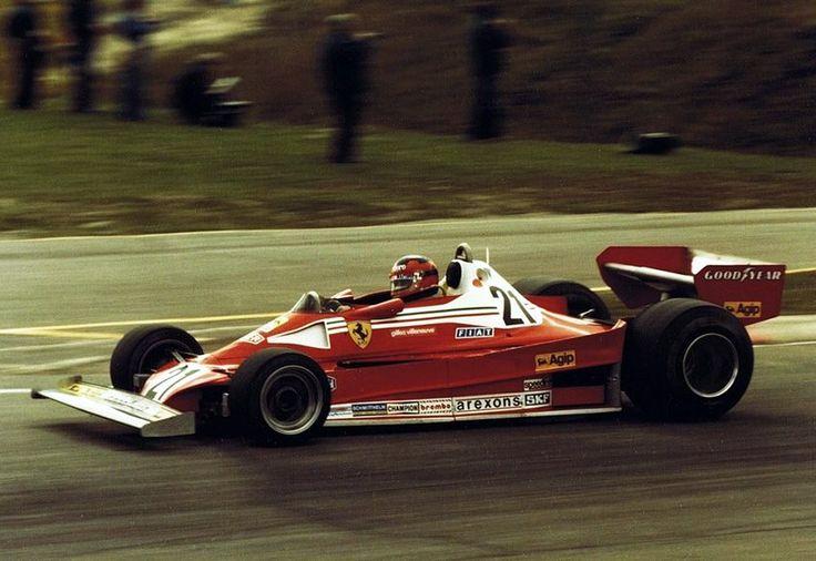Gilles Mosport 1977, Ferrari Debut
