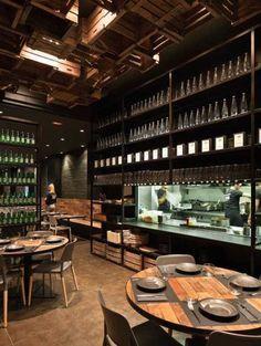 Canalla Bistro Valencia: best restaurant | http://www.yourlittleblackbook.me/canalla-bistro-valencia/  spain | restaurant design