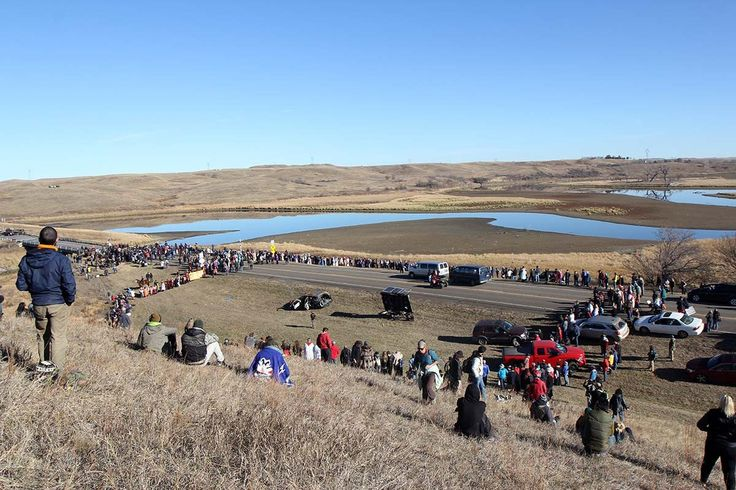 500 religious leaders joined Native Americans in protest and prayer at Standing Rock. #NoDAPL