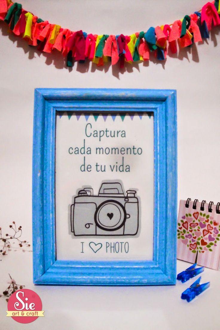 Sie - Art & Craft: I love photo ♥