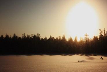 Light to dark winter