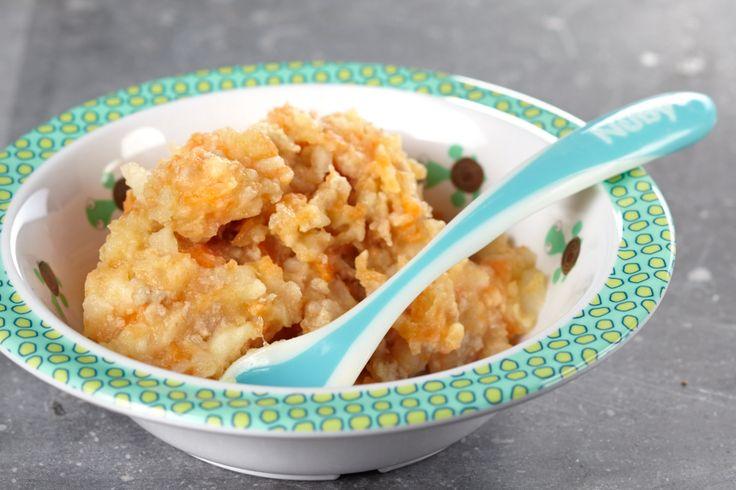 Du bouillon, de la crème et bien sûr, du fromage râpé pour réaliser un délicieux gratin d'hiver avec carottes, céleri-rave et pommes de terre. Parfait pour accompagner un burger de veau. Aussi pour votre petit bout dès 6 mois.