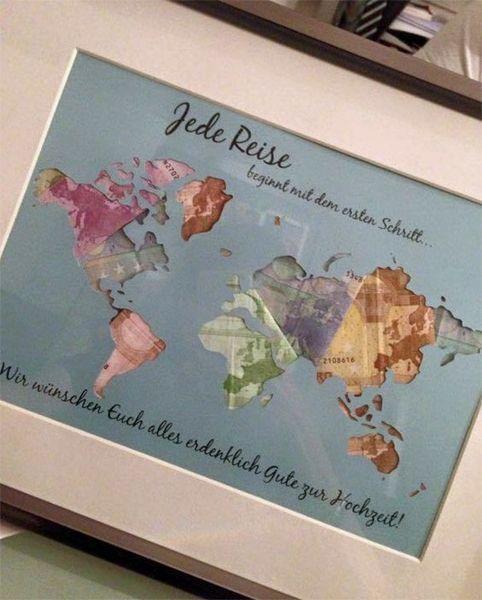 Ideen für Geldgeschenke: Wenn einer eine Reise tut