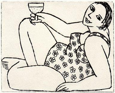 ✦   'champagne by the pool'   -   anita klein