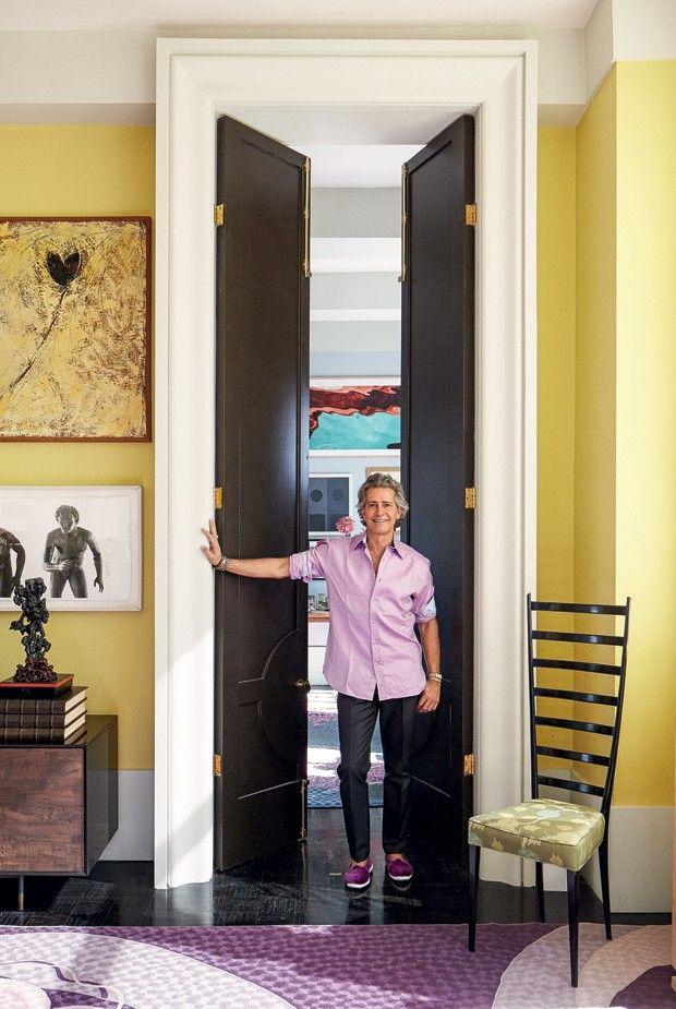 Cacá de Souza abre sua casa em NY