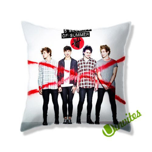 5 Second Of Summer 5SOS Square Pillow Cover