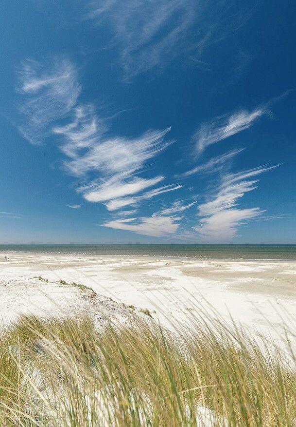 Terschelling beach. One of the Wadden islands @ the Netherlands