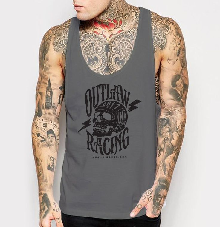 Outlaw Racing - Mens Tank Top