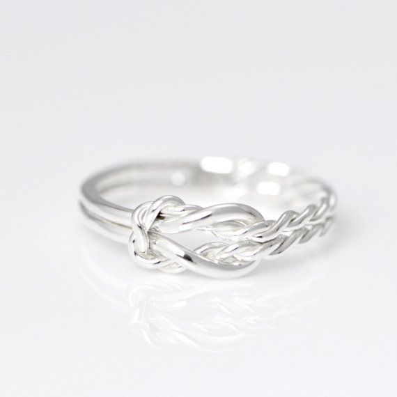 Hey, I found this really awesome Etsy listing at https://www.etsy.com/listing/107020862/infinity-knot-ring-infinity-knot-jewelry