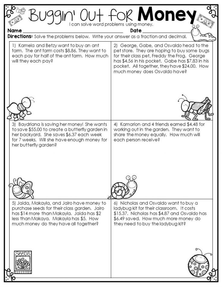 4th Grade Math Word Problems - Best Coloring Pages For ...