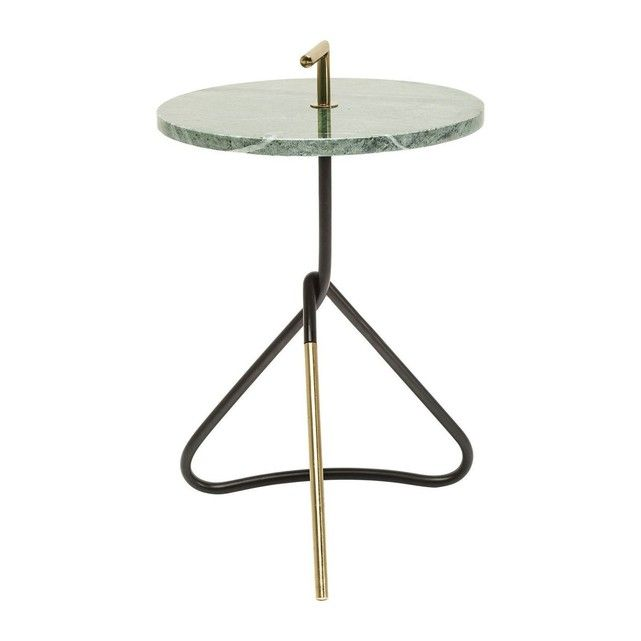 Table d appoint Doblado verte 37cm Kare Design