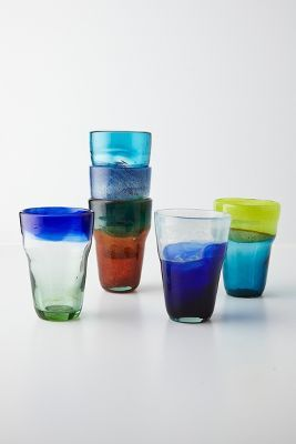 anthropologie Tincture Glass -- color