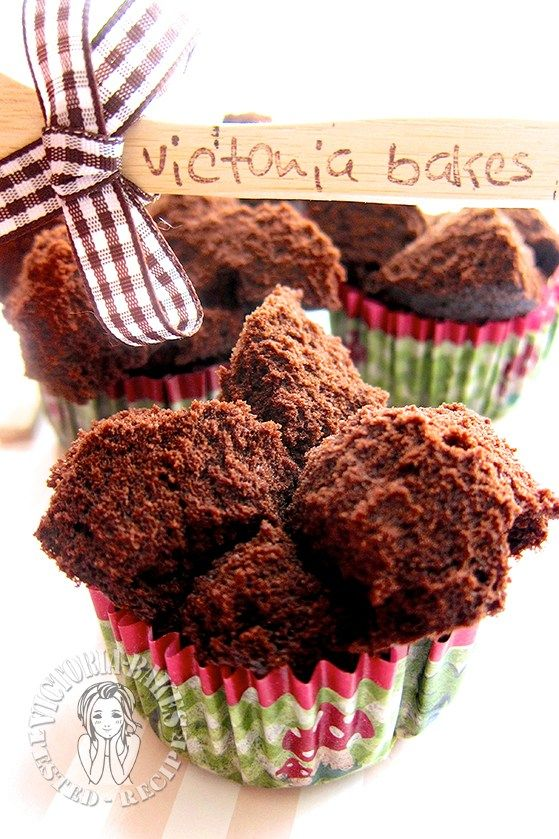 very moist & chocolatey steamed huat kuey 超湿润巧克力十足蒸发糕