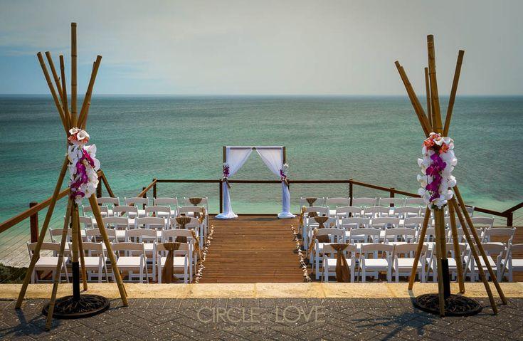 Jindalee Beach Deck Wedding www.circleofloveweddings.com.au