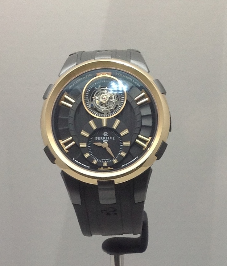 Compared with many tourbillons I saw, this limited edition from Perrelet is clean...nice.