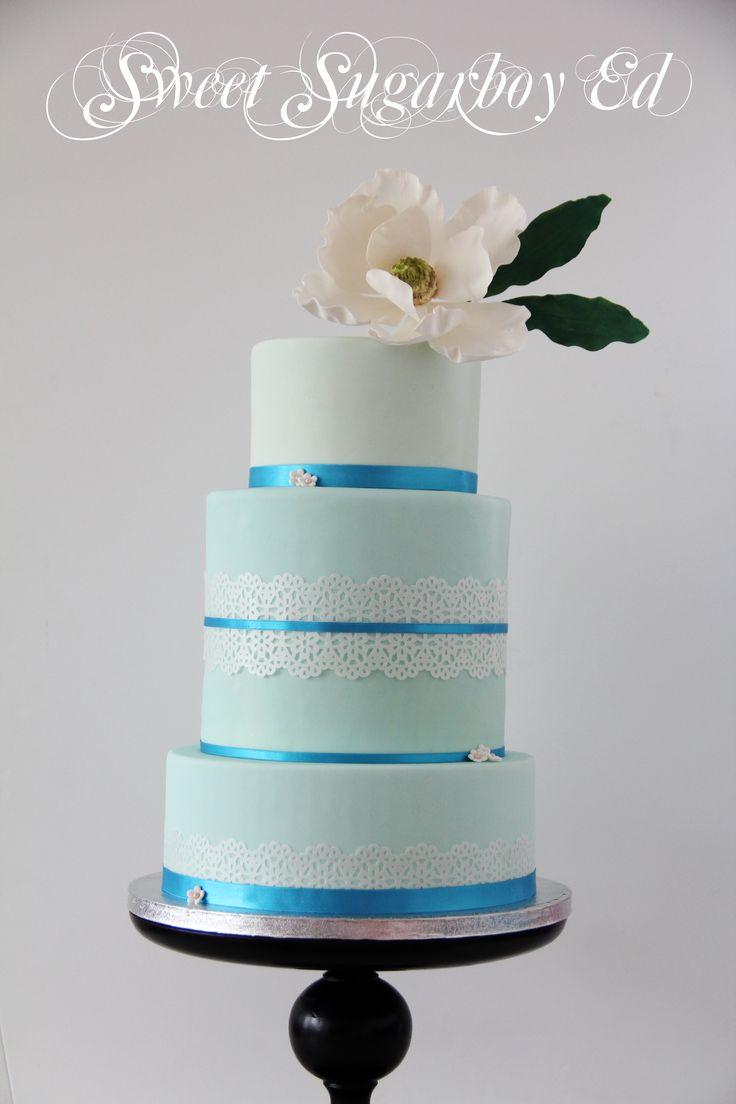 Blue Magnolia Cake 23 August 2014
