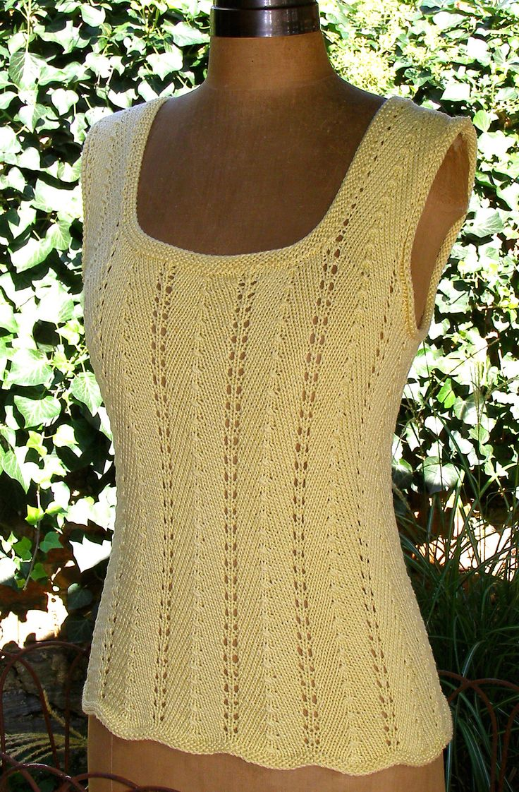 Ravelry: Summer Tee Top by Claudia Olson