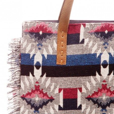 Painted Desert Fringed Tote