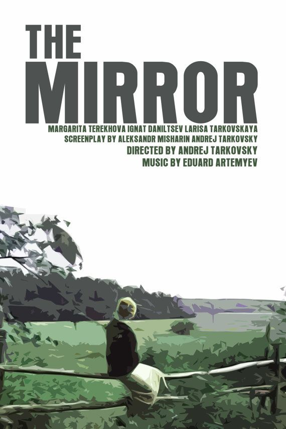 Tarkovsky Movie Poster Set: The Mirror / Nostalghia / Andrei Rublev