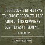 Citation D'Albert Einstein sur la relativité
