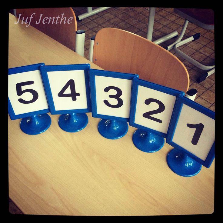 Ideaal om groepjes te maken. Je plaatst de kaders op de verschillende tafels.